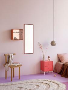 психология розового цвета в интерьере